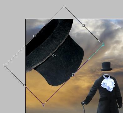 Surreal Photo Manipulation ফটোশপের কারুকাজ পর্ব ১৫ (একটি ঝড়ের স্থানে মাথা বিহীন লোক)