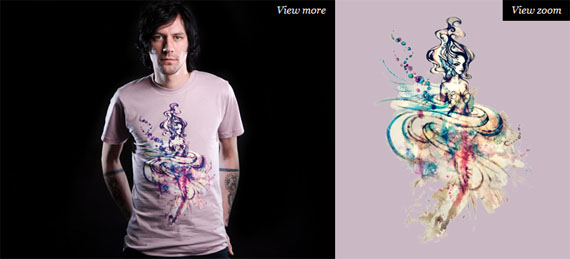 Ariel-cool-creative-tshirt-designs