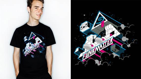 Funkmaster-cool-creative-tshirt-designs