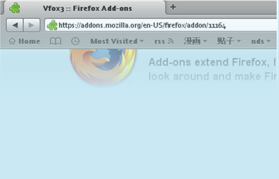 vfox3-professional-modern-firefox-themes