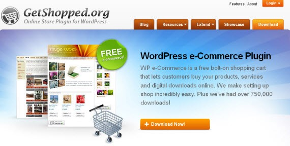 WP Ecommerce from Getshopped.org