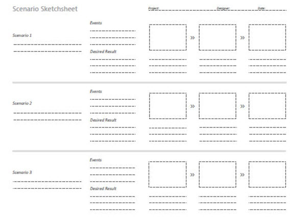 Sketching-wireframing-design-news-feature