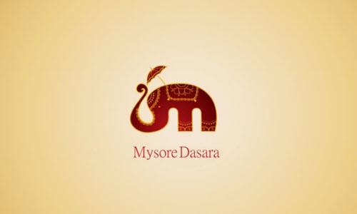Яркий индийский слон