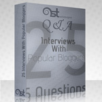 1STWD Q&A E book : Interviews With 25 Popular Bloggers