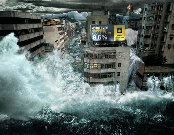 Banco-financiero-furious-flood-creative-unique-advertisements