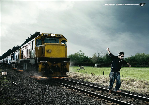 Bose-noise-reduction-headphone-creative-unique-advertisements