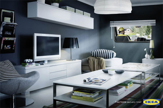 Ikea-living-room-creative-unique-advertisements