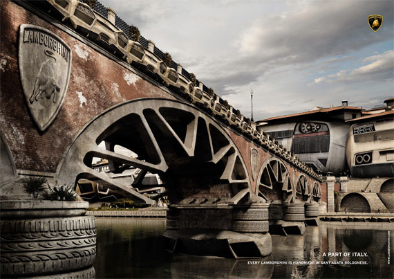 Lamborghini-part-of-italy-creative-unique-advertisements