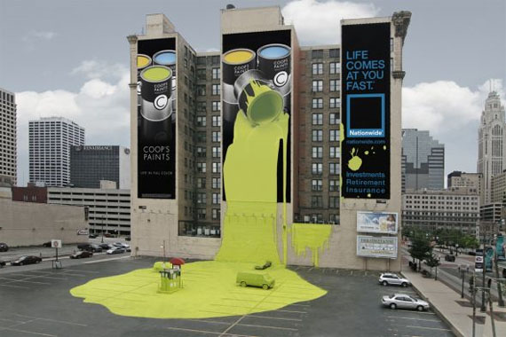 Nationwide-insurance-spilt-paint-creative-unique-advertisements