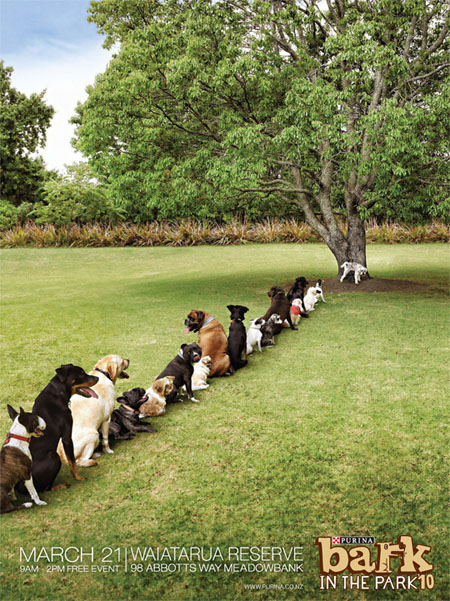 Purina-bark-in-the-park-tree-creative-unique-advertisements