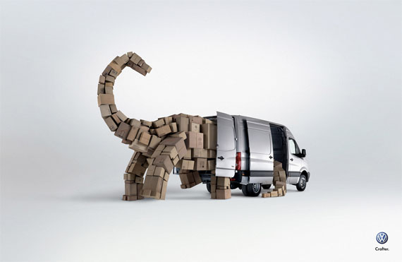 Volkswagen-the-dinosaur-creative-unique-advertisements
