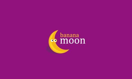 Логотип с бананом