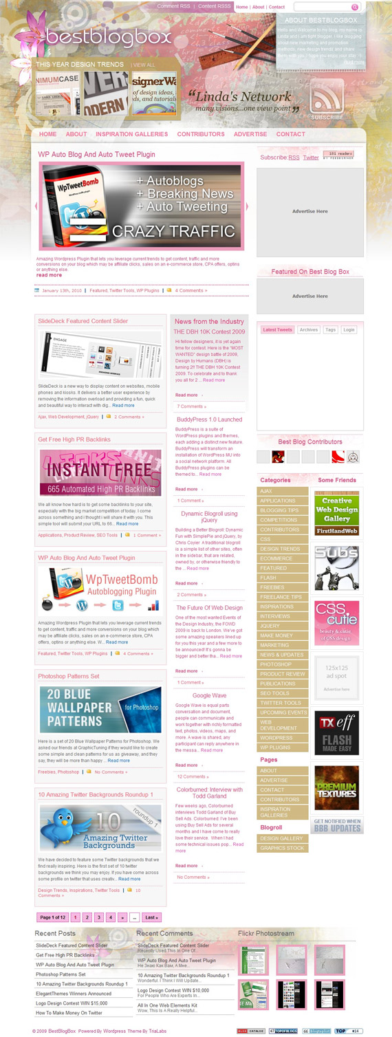 Best Blog Designs Classy With Best Blog Designs Layouts Image