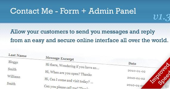 Admin-php-scrip-auto-responder-premium-contact-form