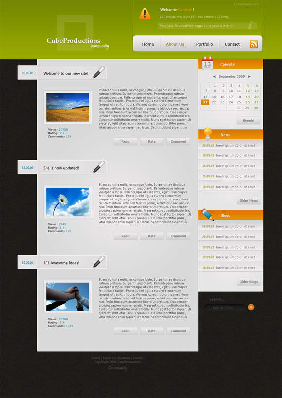 Cube-productions-theme-inspiration-wordpress-blog-designs