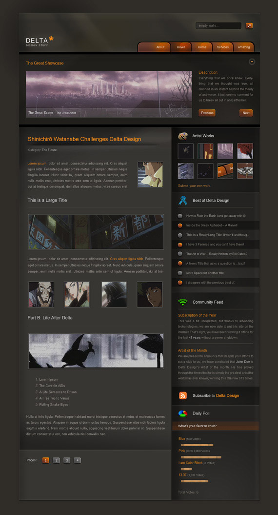 Delta-theme-inspiration-wordpress-blog-designs