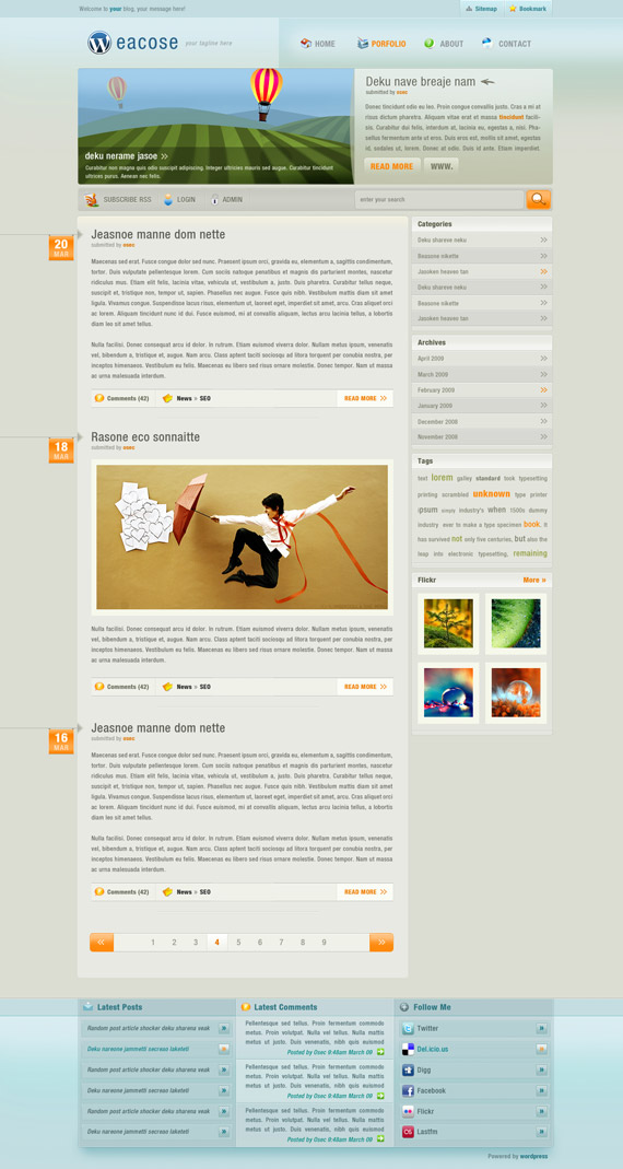 Eacose-theme-inspiration-wordpress-blog-designs