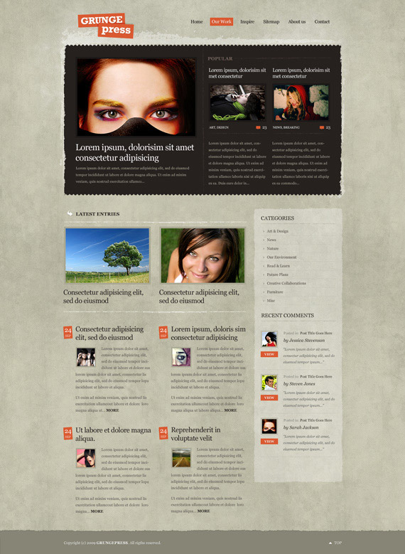 Grungepress-theme-1-inspiration-wordpress-blog-designs