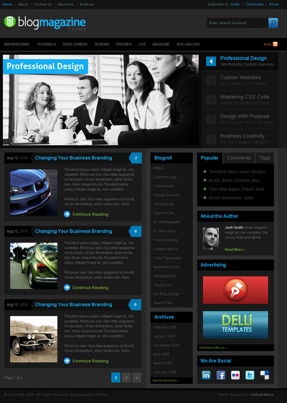 Magazine-theme-inspiration-wordpress-blog-designs