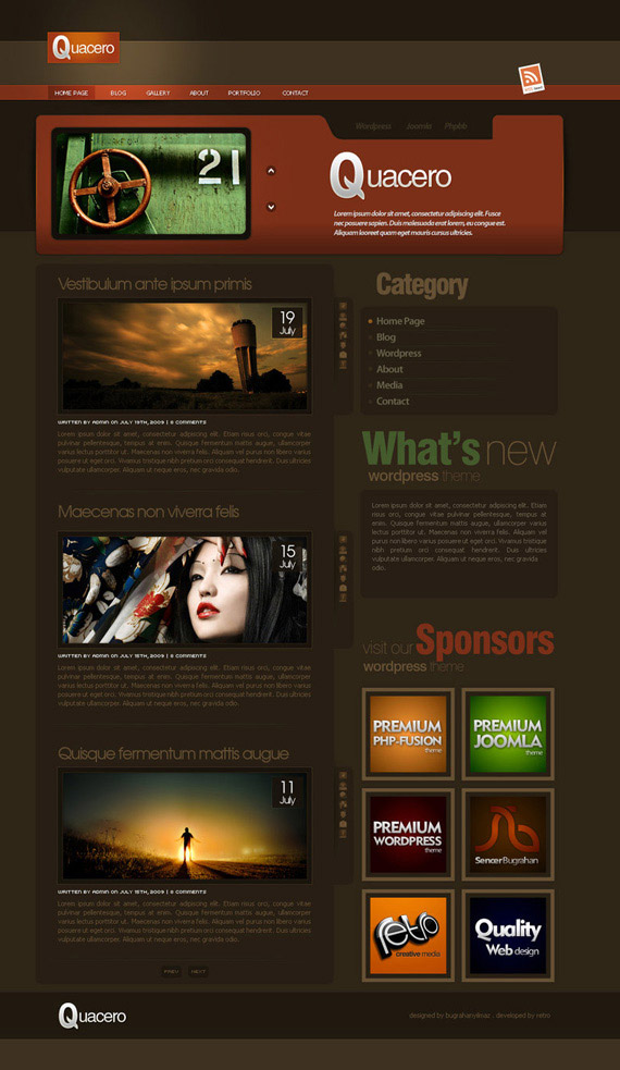 Quacero-inspiration-wordpress-blog-designs