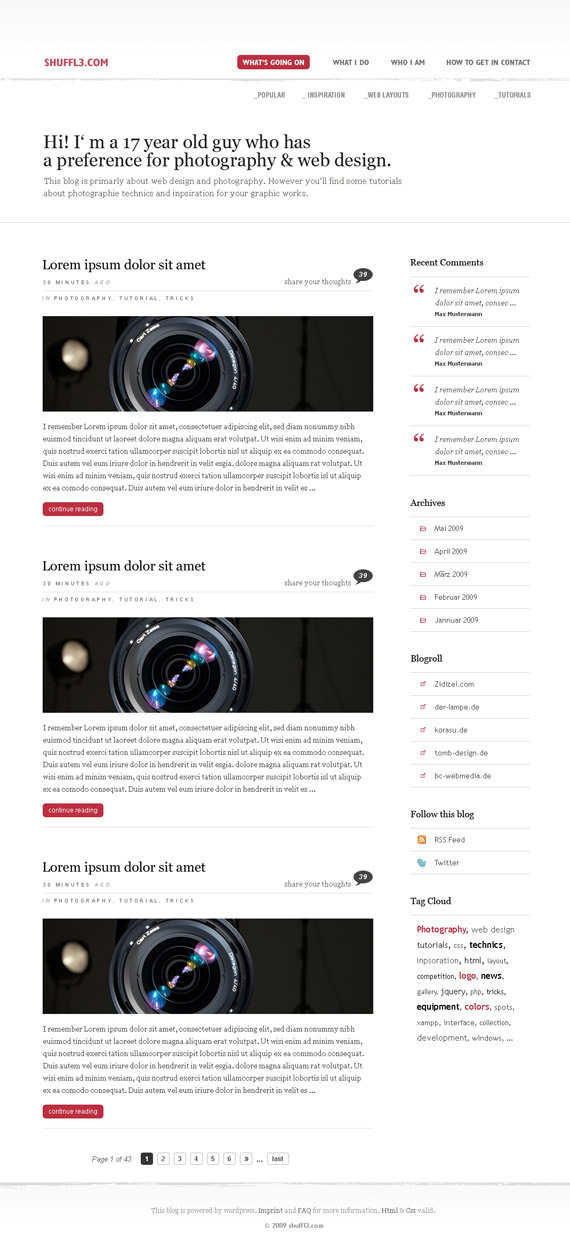 Shuffl3-theme-inspiration-wordpress-blog-designs