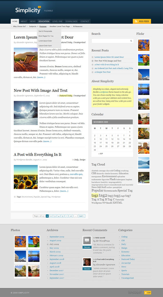 Simplicity-1-theme-inspiration-wordpress-blog-designs