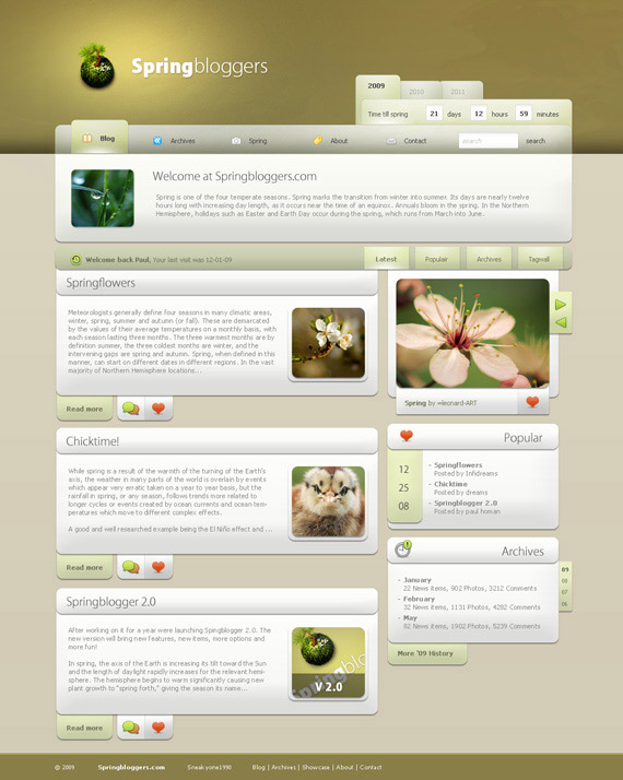 Spring-bloggers-inspiration-wordpress-blog-designs
