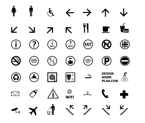 Symbol-signs-collection-icons-for-minimal-style-web-designs