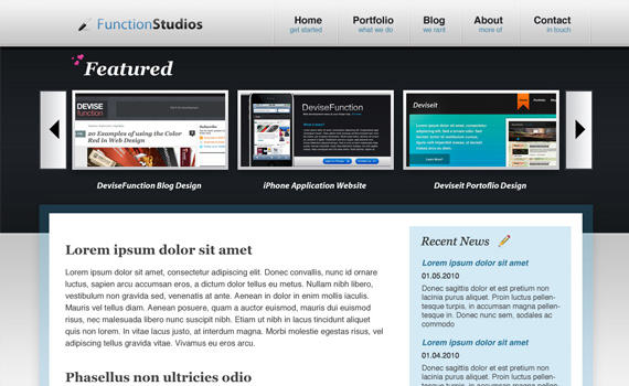 Beautiful-clean-portfolio-in-photoshop-web-design-layout-tutorials-from-2010
