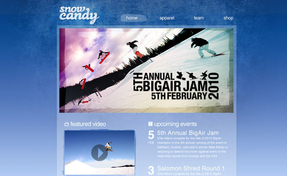 Create-gnarly-snowboarding-themed-web-design-layout-tutorials-from-2010