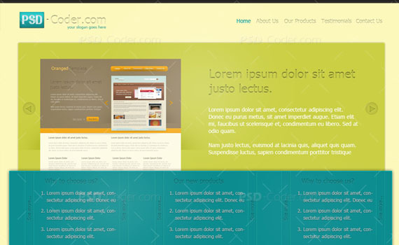 Create-modern-photoshop-template-for-joomla-wordpress-drupal-web-design-layout-tutorials-from-2010