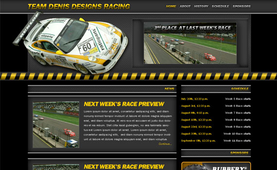 Create-racing-website-web-design-layout-tutorials-from-2010