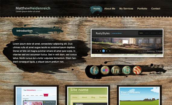Create-wooden-grunge-portfolio-in-photoshop-web-design-layout-tutorials-from-2010