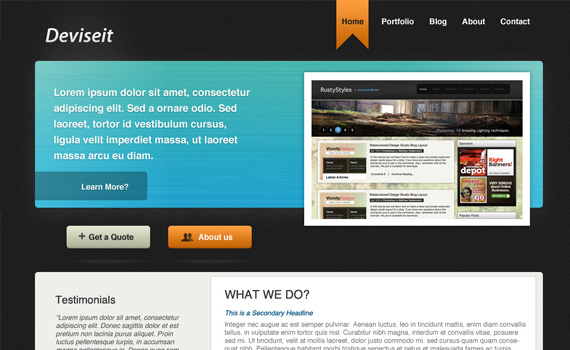 Simple-business-style-portfolio-in-photoshop-web-design-layout-tutorials-from-2010