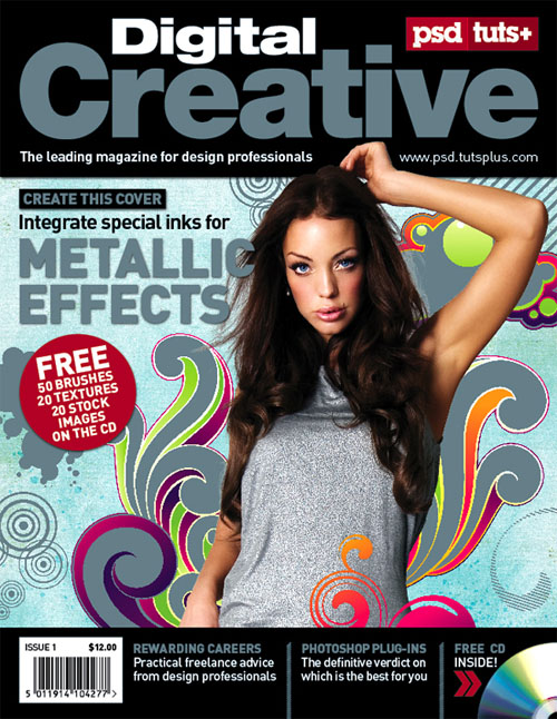 Create-five-color-magazine-cover-using-spot-metallic-print-design-tutorials