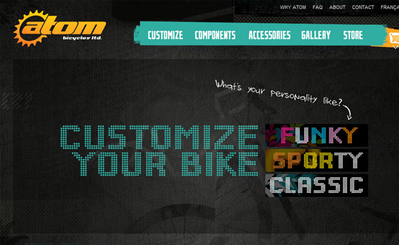 Atom-bicycles-looking-textured-websites