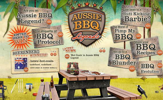 Aussie-bbq-looking-textured-websites