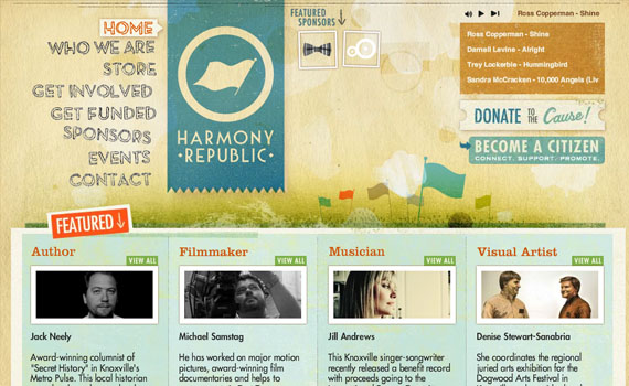 Harmony-republic-looking-textured-websites
