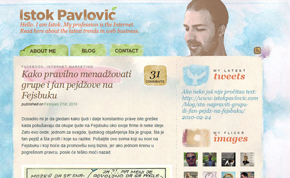Istok-pavlovic-looking-textured-websites
