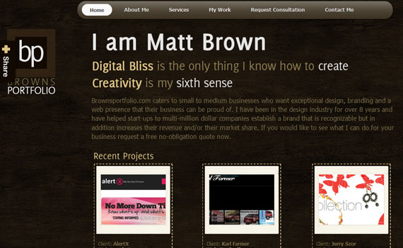 Matt-brown-portfolio-looking-textured-websites