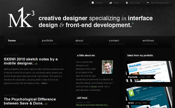 Michael-dick-portfolio-looking-textured-websites