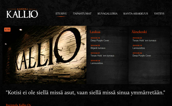 Ravintola-kallio-looking-textured-websites