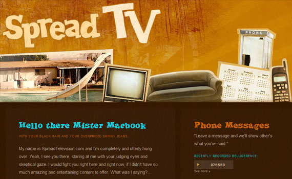 Spread-television-looking-textured-websites
