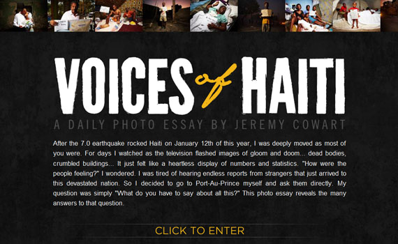 Voices-of-haiti-looking-textured-websites