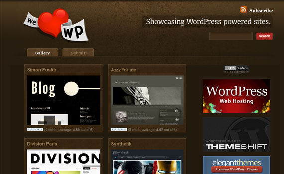 We-love-wordpress-looking-textured-websites