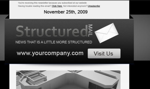 Structured-themeforst-html-email-template