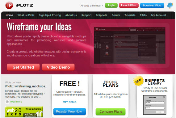 Iplotz-free-premium-wireframing-webdesign-tools