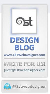 1st Web Designer - Facebook FanPage Image