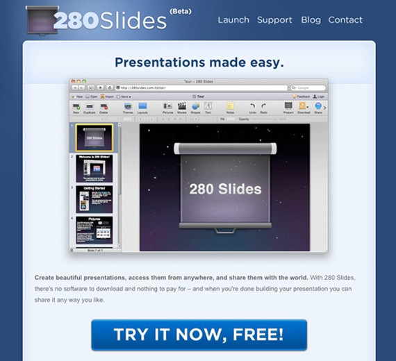 280 Slides screenshot