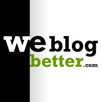 We Blog Better - Facebook FanPage Image